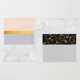 Gold Modern Art XIX Rug