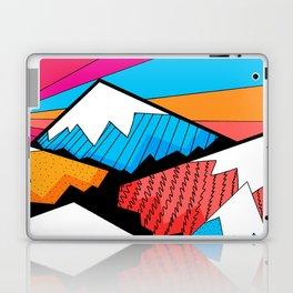 Winter rainbow mountains Laptop & iPad Skin