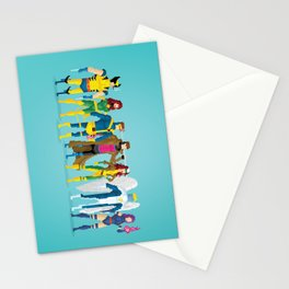 Pixel Mutants Stationery Cards
