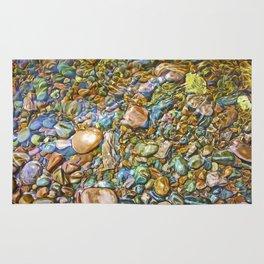 Baptism River Rocks Rug