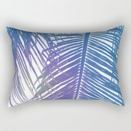 Coco Palm Leaf Zen Poster Rectangular Pillow