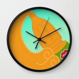 Pran Mango Juice Wall Clock