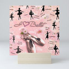 Ballet Mini Art Print