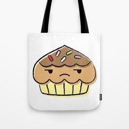 chuck the cupcake Tote Bag
