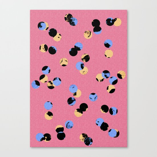 dot dot Canvas Print