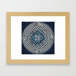Hyper-Square Framed Art Print