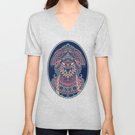 Queen of Solitude Unisex V-Neck