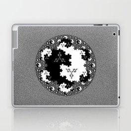 Fractal Taijitu Laptop & iPad Skin