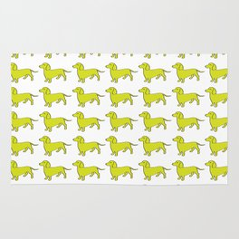 Doxie Love - Lime Rug