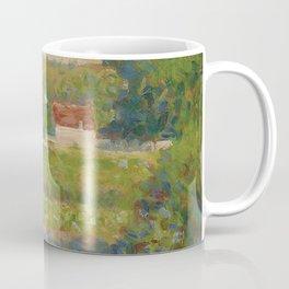"Georges Seurat ""La Maison au toit rouge"" Coffee Mug"