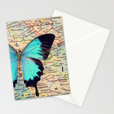 Flying home! Stationery Cards