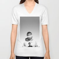 blur V-neck T-shirts featuring Blur by cumminsproject
