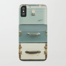 Journey in Blue iPhone Case