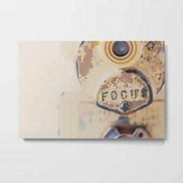 fo·cus ... Metal Print
