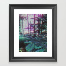 MIND DRUG Framed Art Print