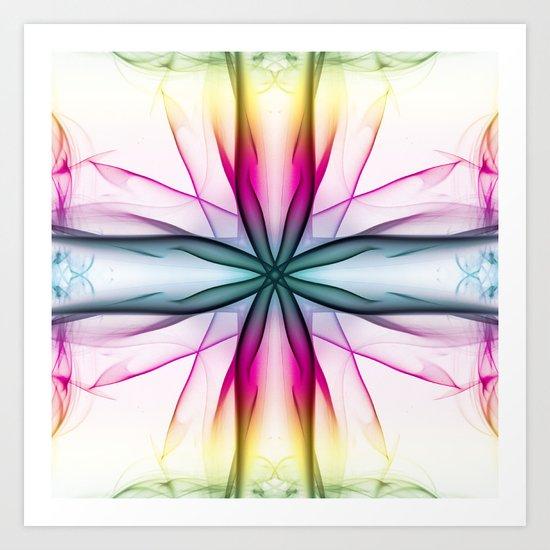 Tumbling Hourglass Art Print