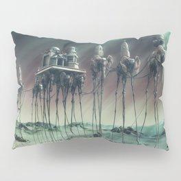 -Caravan Dali- GREEN Pillow Sham
