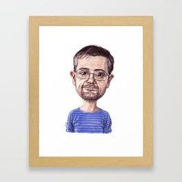 Tribute to Charb Framed Art Print