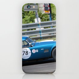 Cobra 289 Sports Car Le Mans Classic iPhone Case