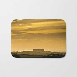 Anglesey Sunset - Wylfa Nuclear Power Station Bath Mat