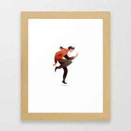 Dancing Boy Framed Art Print