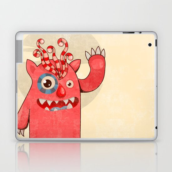 Monster-01 Laptop & iPad Skin