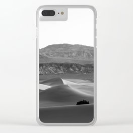 Mesquite Flat Sand Dunes Clear iPhone Case
