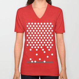 polka dots bounce Unisex V-Neck