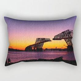 gate bridge Rectangular Pillow