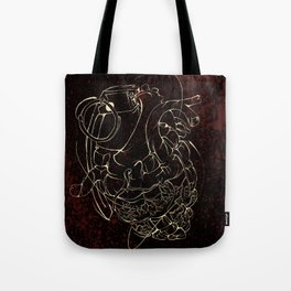 Broken Hearted Tote Bag