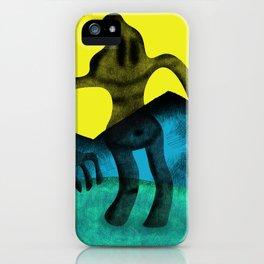 Shadowy Headacher iPhone Case