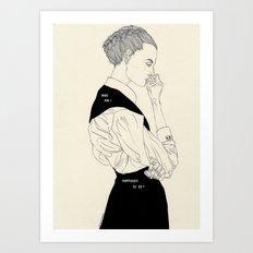 KB Art Print