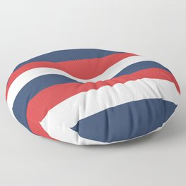 Barber Rugby Stripe Floor Pillow