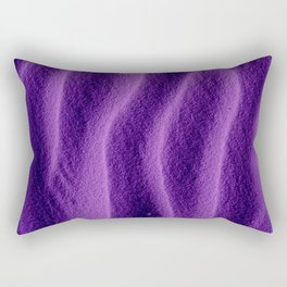 Sand_Ripples - Purple Rectangular Pillow