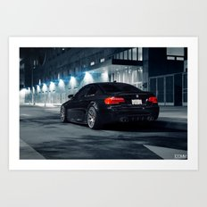 BMW 335i M Conversion Art Print