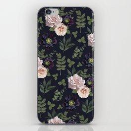 Pressed Floral Plum iPhone Skin