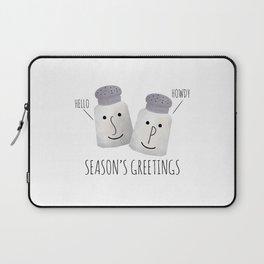 Season's Greetings Laptop Sleeve