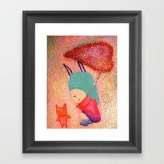 Let me go with you Framed Art Print