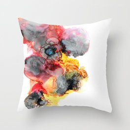 Finding The Sunshine Despite The Storm Throw Pillow