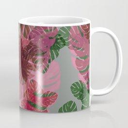 Neon Monstera Coffee Mug