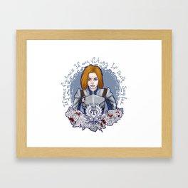 Grey Warden Framed Art Print