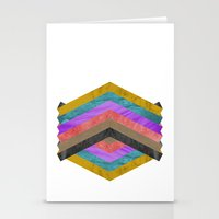 hexagon Stationery Cards featuring Hexagon by Kaamil Ajmeri