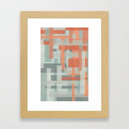 rust Framed Art Print