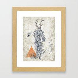 The Absurd Man Framed Art Print