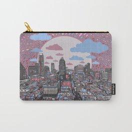 austin texas city skyline Carry-All Pouch