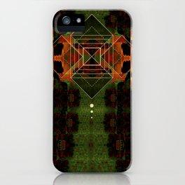 Square Geometry Texture iPhone Case