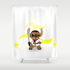Stitch Bonifacio Shower Curtain