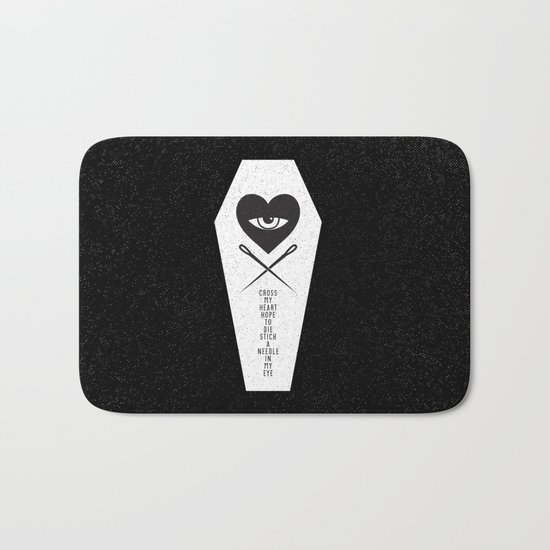 CROSS MY HEART Bath Mat