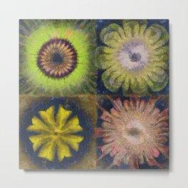 Methylator Structure Flowers  ID:16165-011604-36970 Metal Print