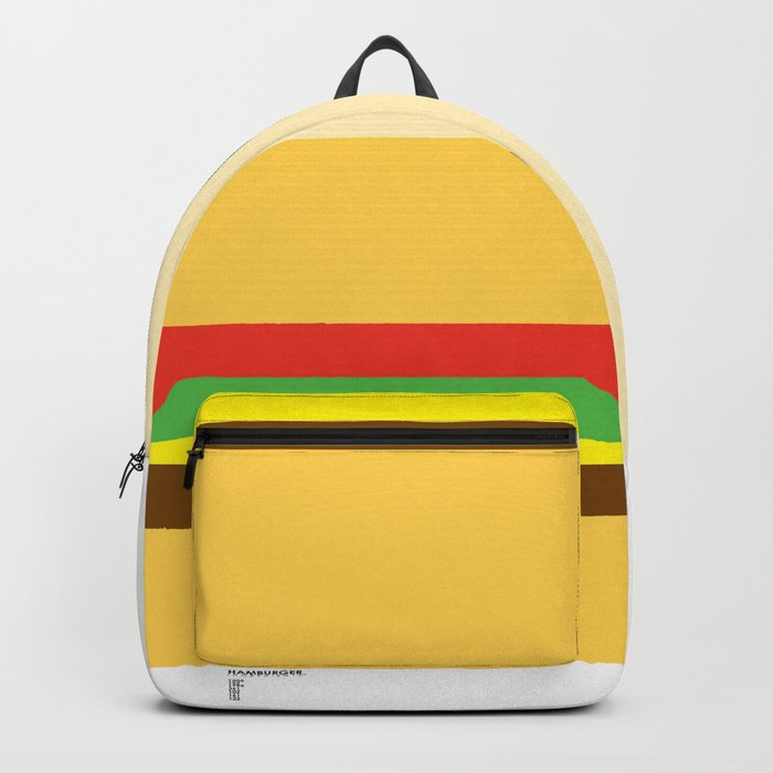 Pantone Food - Hamburger Backpack